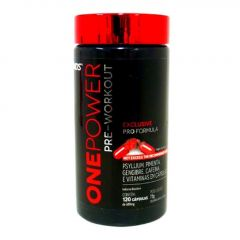 ONE POWER PRE-WORKOUT 600mg-120 CAP(nutrends)